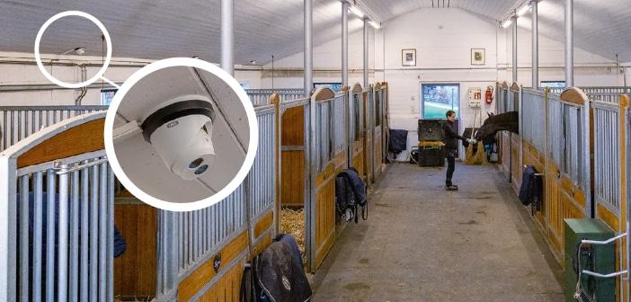ABUS Videoüberwachung für Pferdebetriebe